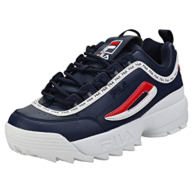 Fila Disruptor Ii Premium Trainers Navy  Amazon.co.uk  Shoes   Bags 27cf14b958