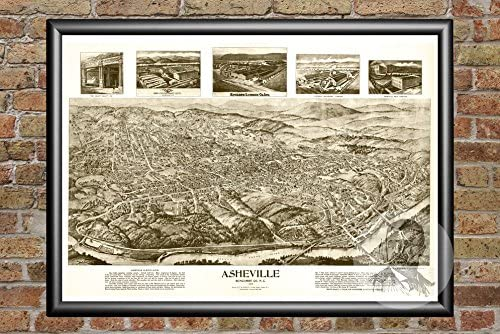 "Beautiful Vintage Old World Map 1891 CANVAS PRINT  24/""X18/"" Poster"