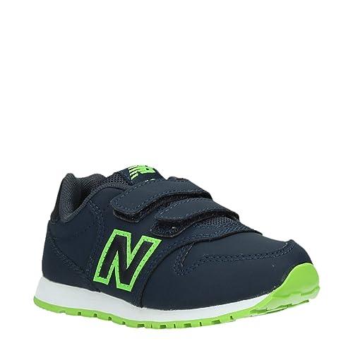 2b6c86a87fe9b New Balance Unisex Kids' KV500 Gey Fitness Shoes, Green (Verde KV500 Gey)