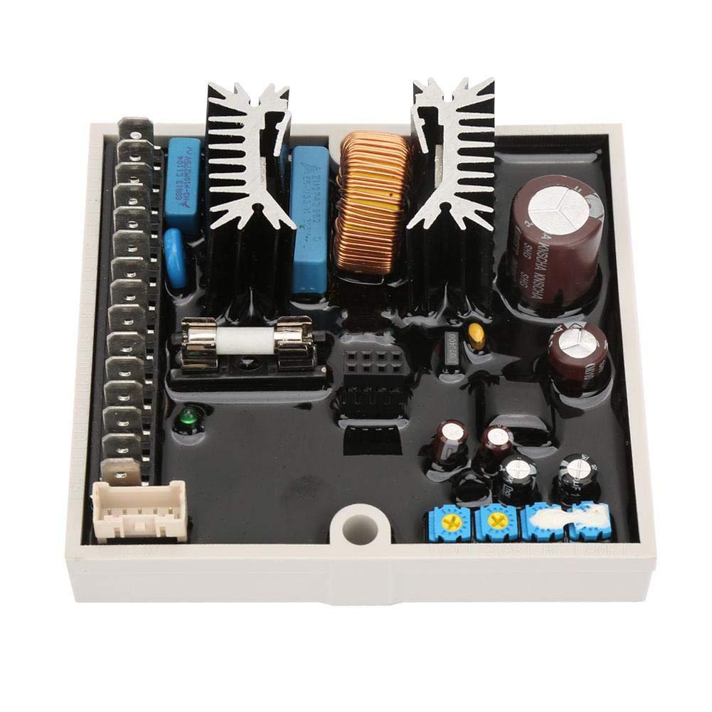 wosume Voltage Regulator DSR AVR Automatic Voltage Regulator Fir for Meccalte Generator A6762 40-270VAC