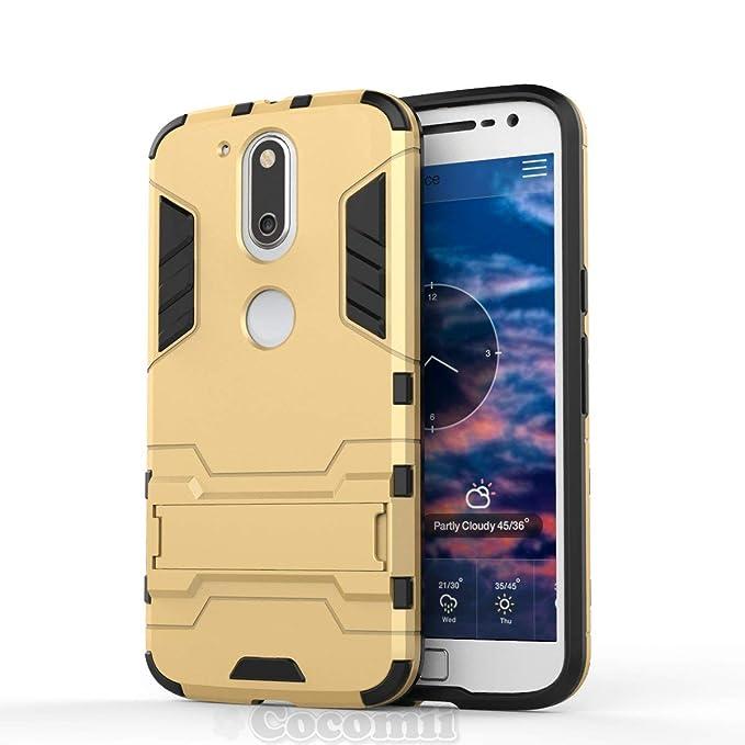 Cocomii Iron Man Armor Motorola Moto G4/G4 Plus Funda Nuevo ...