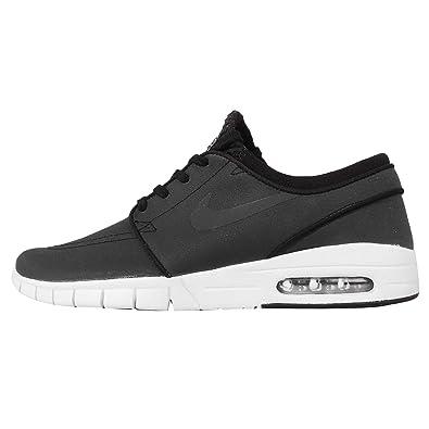 huge discount 0b61b 7d506 Nike Stefan Janoski Max L Chaussures de Skateboard Homme, Black/White/Pink (