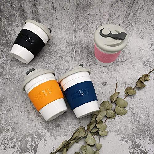 Taza de Café para llevar con Tapa, Taza de Café Reutilizable ...