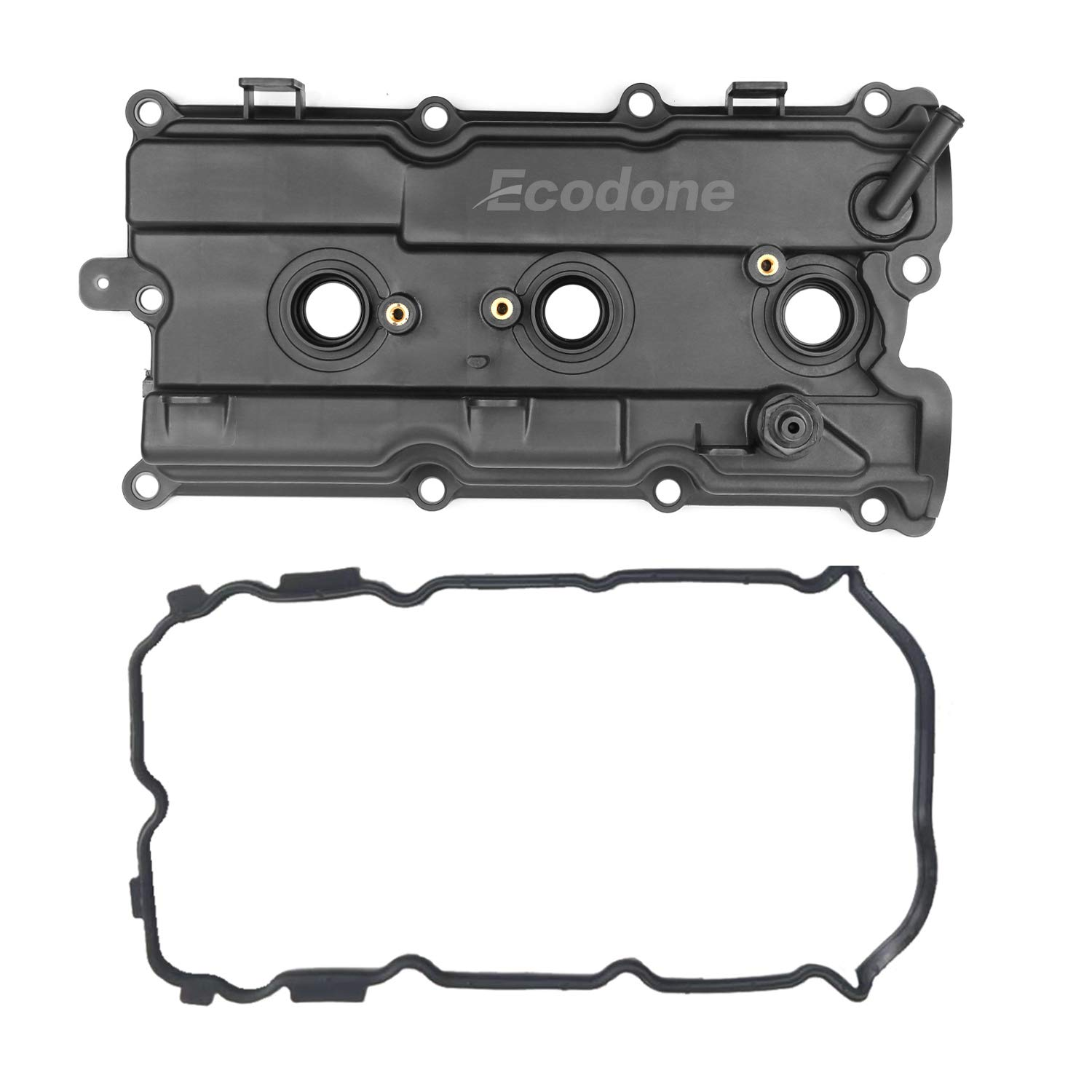 Left Side Engine Camshaft Valve Cover /&2 Gaskets for 02-09 Nissan Murano Altima Maxima Quest 3.5L,PCV Cover fits INFINITI I35 3.5L by Ecodone