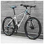 61XNDzL pSL. SS150 Bicicletta, 26 Pollici 21 velocità Bicicletta Mountain Bike, Bicicletta, Biciclette Sospensioni Anteriori Doppio Freno A…