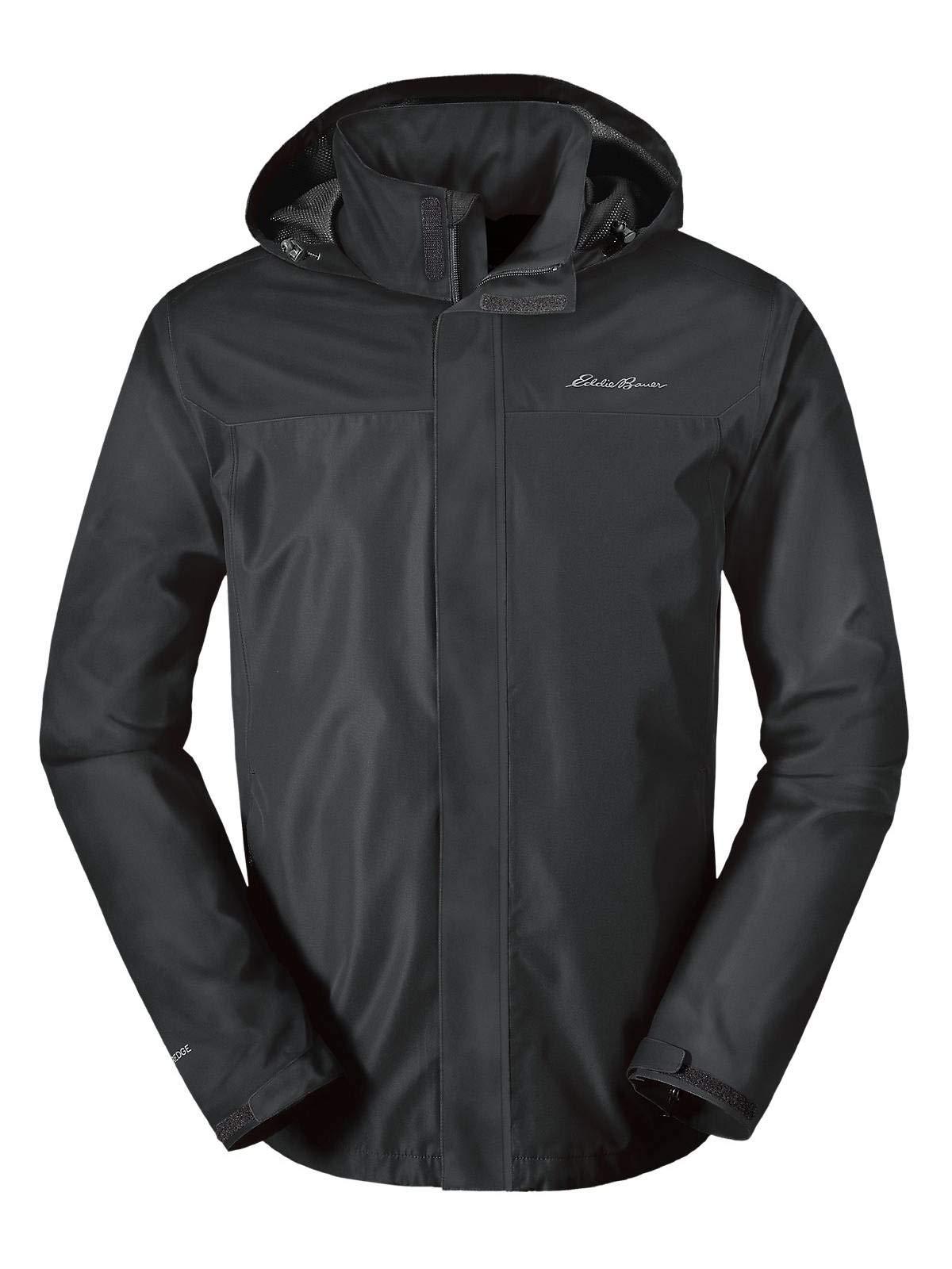 Eddie Bauer Men's Rainfoil Packable Jacket, Dk Smoke Tall XL