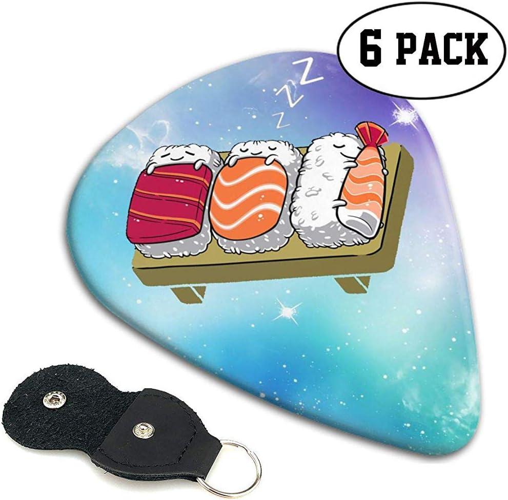 Kawaii Sushi In Bed Casual Guitar Pick, Guitarras eléctricas ...