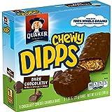 Quaker Chewy Dipps, Dark Chocolatey, 6-count Box