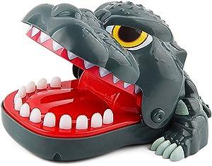 Dinosaur Dentist Games for Kids, Dinosaur Biting Finger Game Funny Toys, Ages 4 and Up