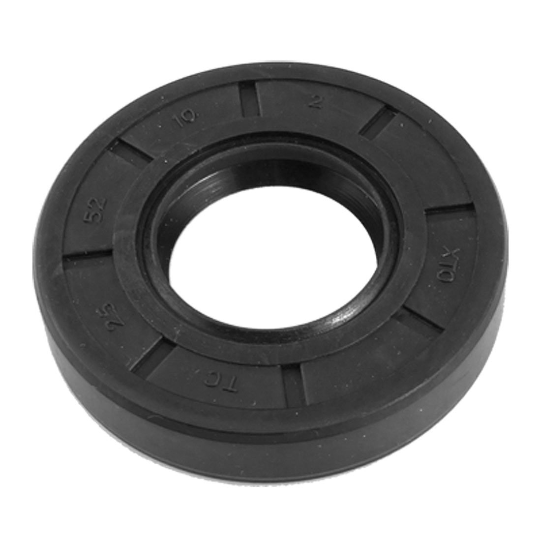 uxcell TC Rubber Coated 25mm x 52mm x 10mm Double Lip Rotary Shaft Oil Seal