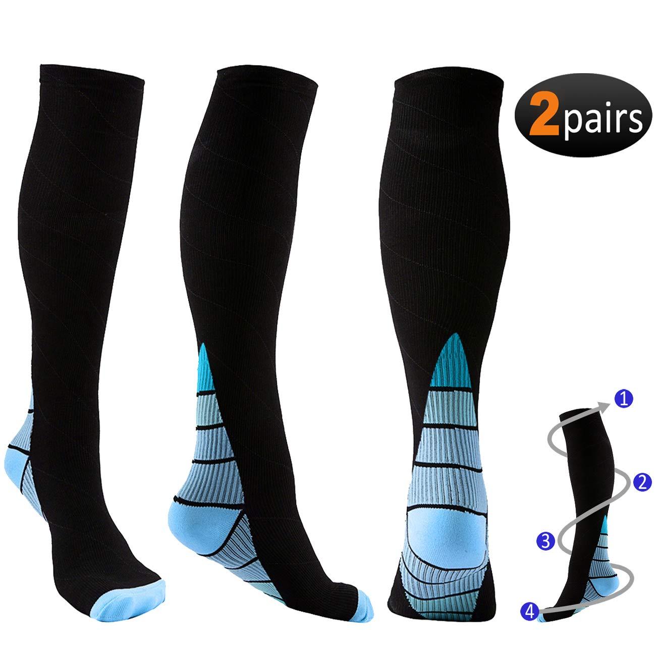 4afd1e301 Mejor valorados en Calcetines de compresión de running para hombre ...