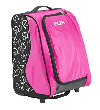 "GRIT SPECIAL SKATING TOWER BAG 20"" (rosa) Maleta-Trolley especial para patinaje"