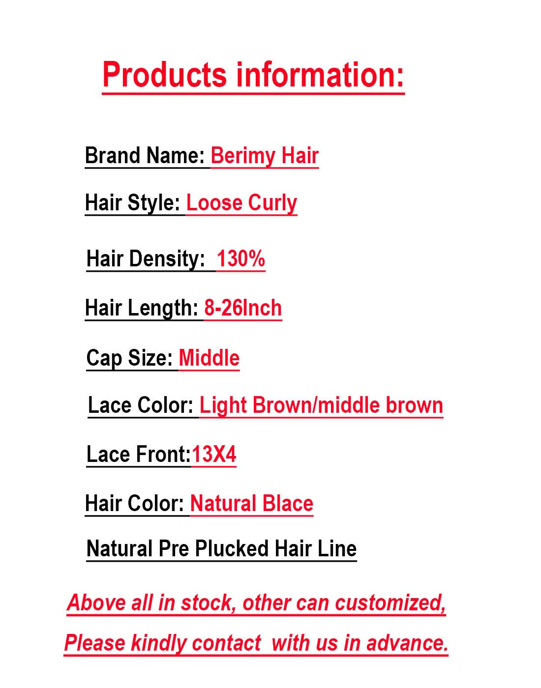 Short Bob Full Lace Human Hair Wigs With Baby Hair For Black Women Pre Plucked Hairline Brazilian Virgin Lace Front Human Hair Wigs 8''-16'' Loose Curly Hair Natural Color (Lace Front Wig 8) by Berimy
