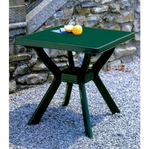 Mesa cuadrada (80x 80 cm)color verde