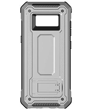 KUAWEI Funda Samsung Galaxy s8 Cover Samsung s8 Funda Armadura Carcasa Soporte Incorporado Doble Capa Armadura Proteccion Cover para Samsung Galaxy s8 ...