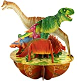 Santoro Pirouettes Dinosaurs 3D Pop Up Card (PS063)