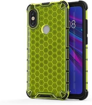 DONG Productos para celulares Estuche Protector Honeycomb PC TPU a Prueba de Golpes Estuches Duros (Color : Green): Amazon.es: Electrónica