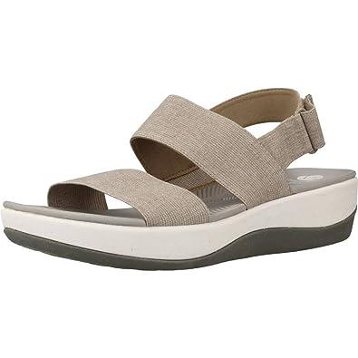 d21faaee555d Clarks 2596-54D ARLA Jacory Sand Womens Sandals  Amazon.co.uk  Shoes   Bags