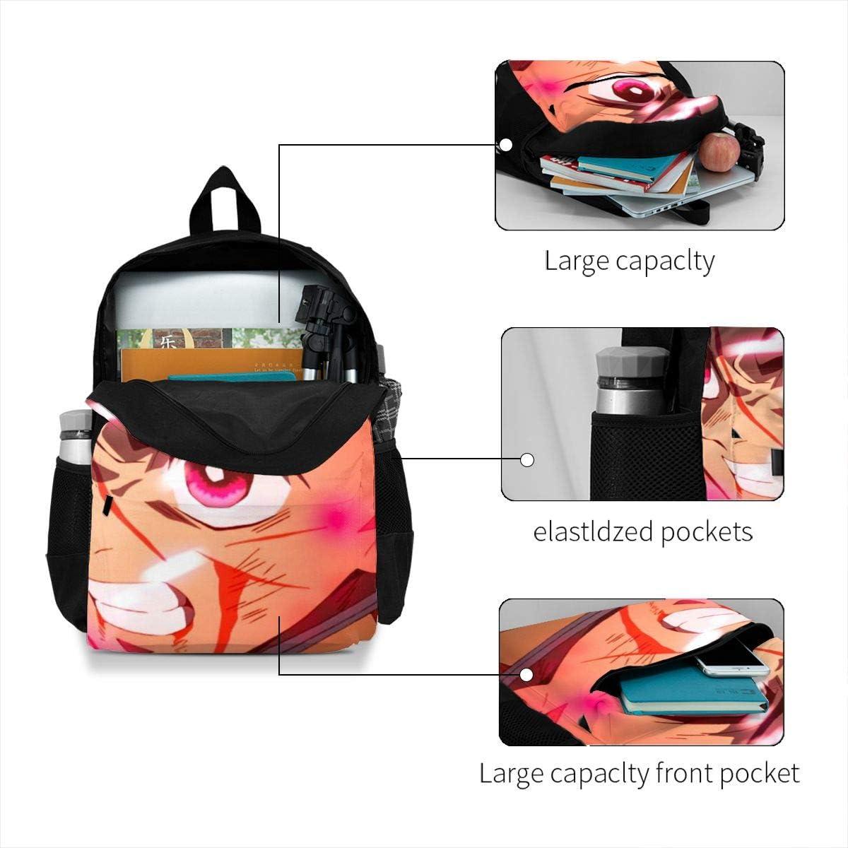 Homewifi Demon Slayer Kimetsu No Yaiba Leisure Adult Backpack Laptop Adjustable Shoulder Business Travel