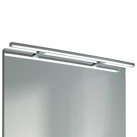 EBIR - Luce LED specchio bagno Esther S3 in alluminio, L800mm - 12W ...