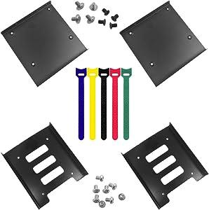 findTop 4 Pack SSD Mounting Bracket Kit 2.5