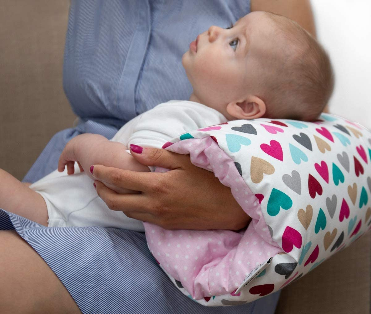 KempKids.Coussin de bras Allaitement Soins en h/ôpitaux c/œurs