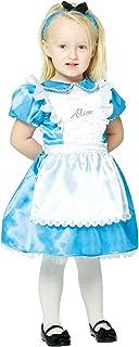 Girls Disney Alice In Wonderland Deluxe Baby Fancy Dress Costume  sc 1 st  Amazon UK & ALICE IN WONDERLAND GIRLS TODDLER FANCY PARTY DRESS COSTUME 2-4 YRS ...
