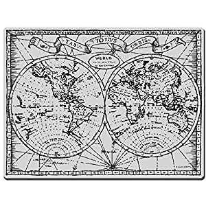 Stampendous cling rubber stamp old world map for Rubber stamps arts and crafts