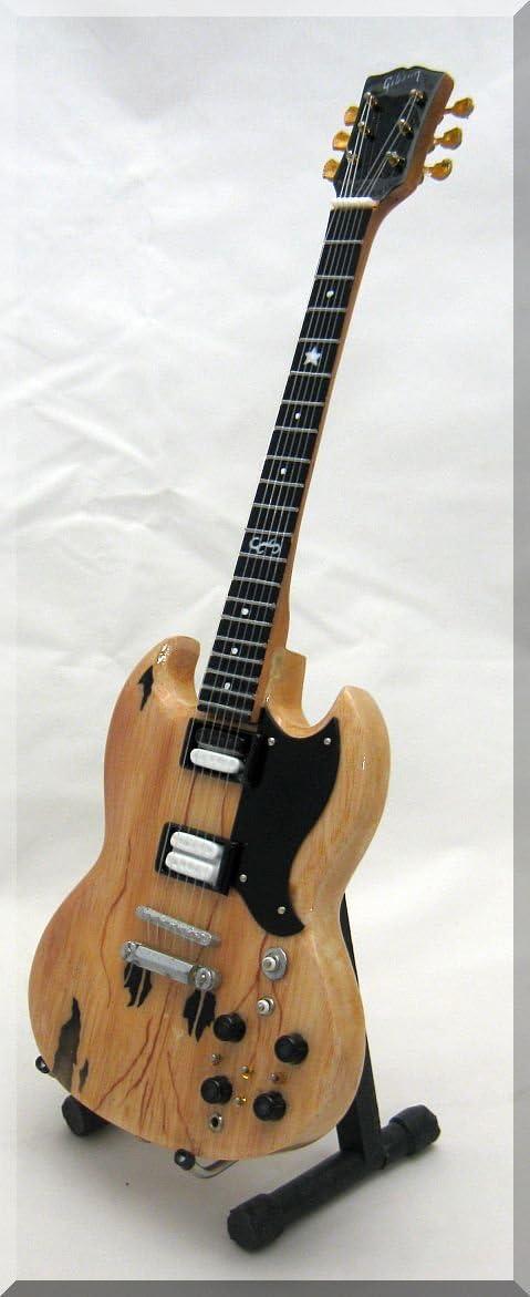 Frank Zappa Guitarra en miniatura Gibson SG: Amazon.es ...