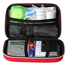 18-in-1 Small First Aid Kit Waterproof - Stocked with Essential Medical Supplies for Emergencies At Home, Car, Camping ect.