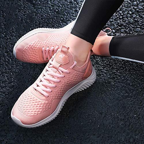 Sportive Eu36 Scarpe Cocco Leggere cn36 Ammortizzatore Libero Size Tempo Pink colore Per Da Corsa Lento Con Il Turismo Ff Calzature Femminile uk4 H5ppq