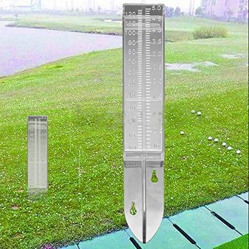 Plastic Bandolier - DalaB New Rain Gauge 5 inch 120ml Capacity Plastic Clear Rain Gauge Replacement Tube for Outdoor Home Garden DIY Crafts Tool