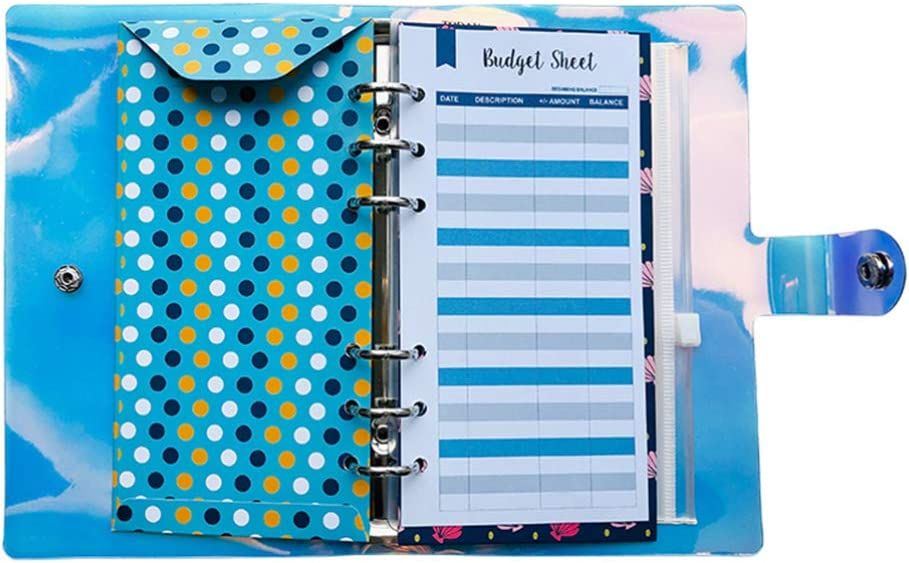 STOBOK Budget Feuilles Enveloppe Syst/ème de Portefeuille Portefeuille Planificateur de Budget Organisateur Enveloppes en Esp/èces Coupon Organisateur Planificateur Financier pour Cadeau Femme Homme