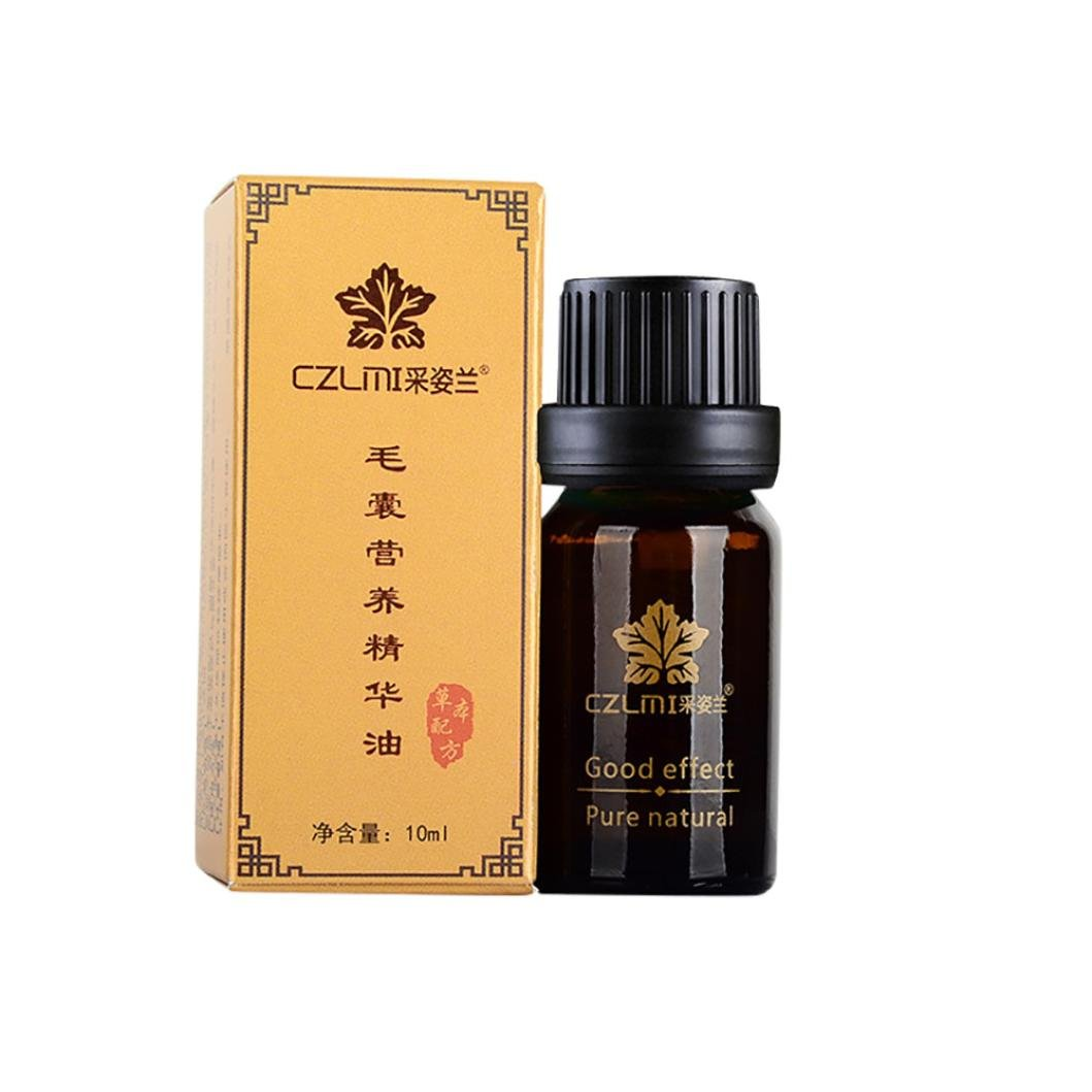 Hair Essence Oil,lotus.flower 10ml Fast Hair Growth Dense Regrowth Essence Treatment Women Men Anti Loss Flowery (10ML)