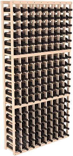 Wine Racks America Pine 9 Column Wine Cellar Kit. Unstained