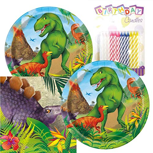 Dinosaur Birthday Party Pack - Includes 7