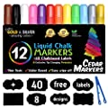 Cedar Markers Chalk Markers 12 Pack