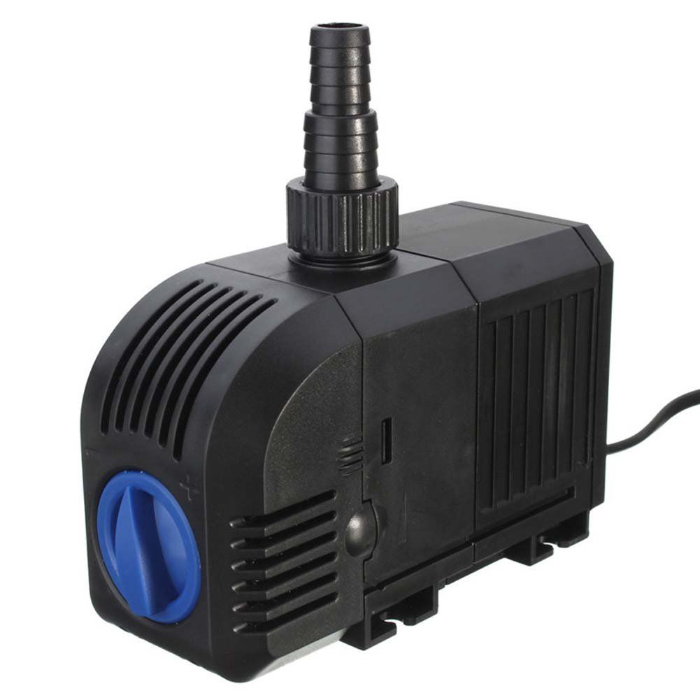 Wintrade 158 GPH Submersible Pump 220V 8W Fountain Water Pump for Aquarium/Fish Tank/Pond/Hydroponics With Power Cord (158GPH)
