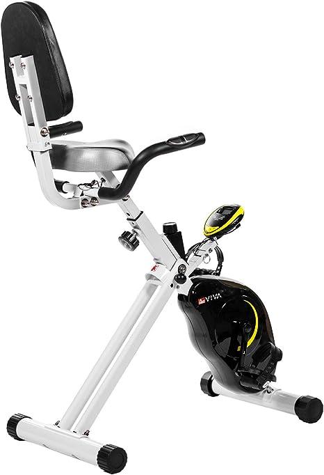 AsVIVA Heimtrainer Ergometer Cardio Sport X-Bike - Bicicletas ...
