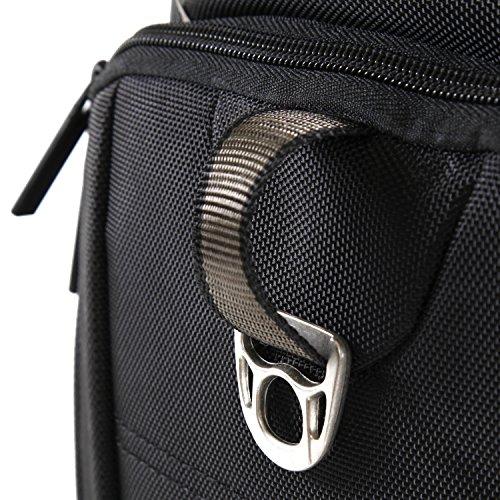 61XNUj77HSL - Perry Ellis Men's 9-Pocket Professional Laptop Backpack-P350 Business Backpack, Black, One Size