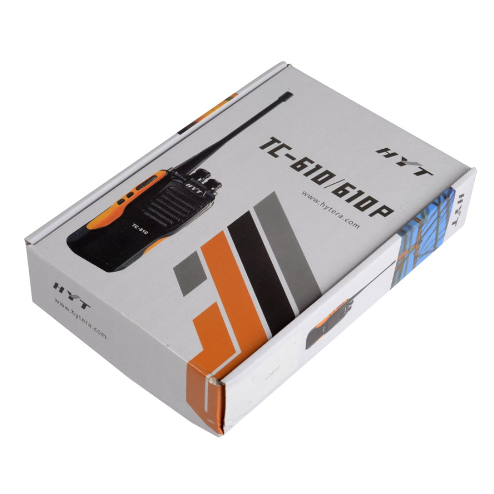 Amazon.com: HYT Hytera HYT TC-610 TC610 UHF 2-way Radio 5W 16 Channel Waterproof Walkie Talkie: Car Electronics