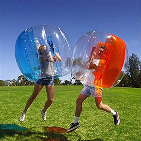 KT Mall 2PCS Bola de Parachoques Inflable Bubble Ball Soccer Ball ...