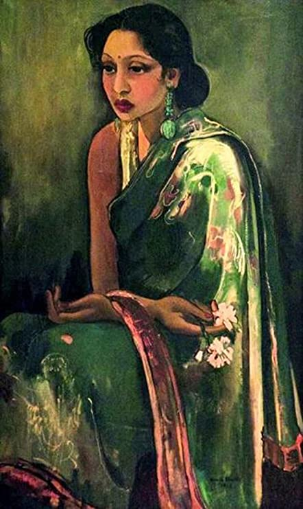 7e5579f4cac3 Tallenge - Amrita Sher-Gil Poster Collection - Indian Art Collection -  Sumair - Unframed