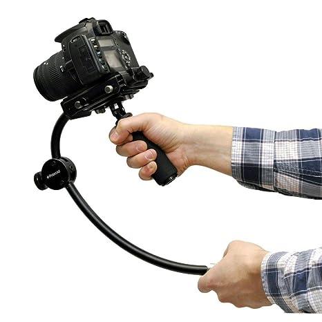 Polaroid profesional Steady estabilizador Gimbal sistema para la Pentax Q, Q7, Q10, K-3, K-50, ...