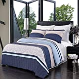 Park-Ave 4pc Full / Queen Comforter Set 100-Percent Brushed Microfiber by Royal Hotel