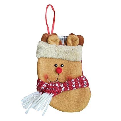 amazon com plaid small christmas present stockings gift bag home