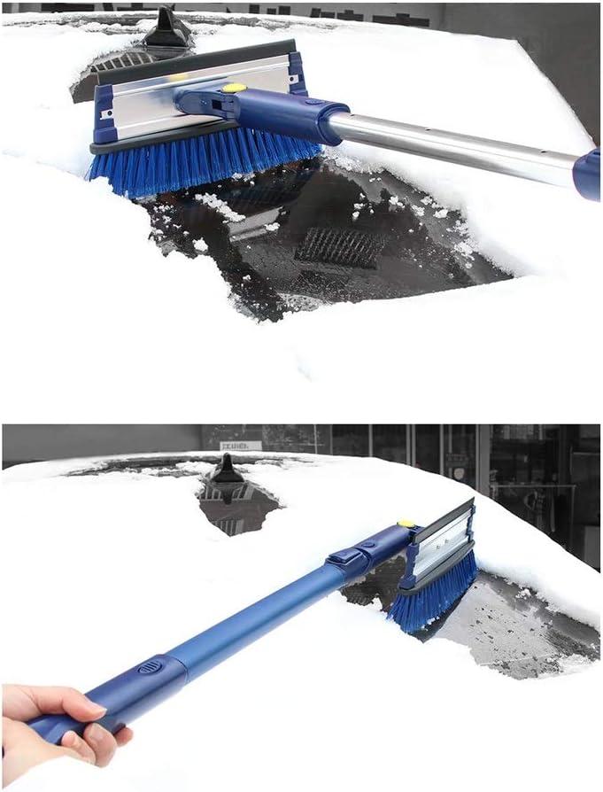 blau TcooLPE 4 in 1 multifunktions teleskop schneeb/ürste Auto schneeschaufel Winter schneewerkzeug Set kratzen Snowboard EIS Schaufel
