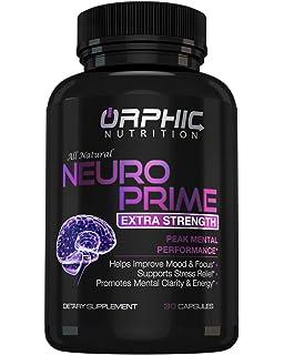 Amazon.com : Vitaminas Para El Cerebro Memoria Y ...