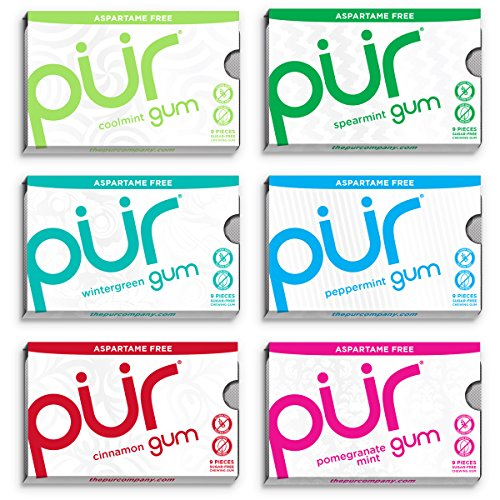 pur-gum-aspartame-free-6-flavor-variety-pack-coolmint-spearmint-wintergreen-peppermint-cinnamon-and-