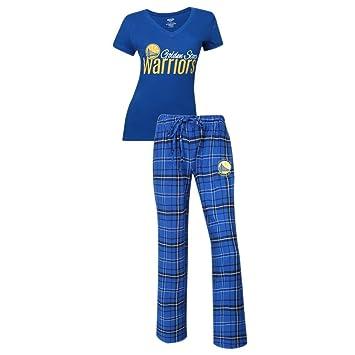 Golden State Warriors Pajamas Womens Sleepwear Pajama Set (X-Large)